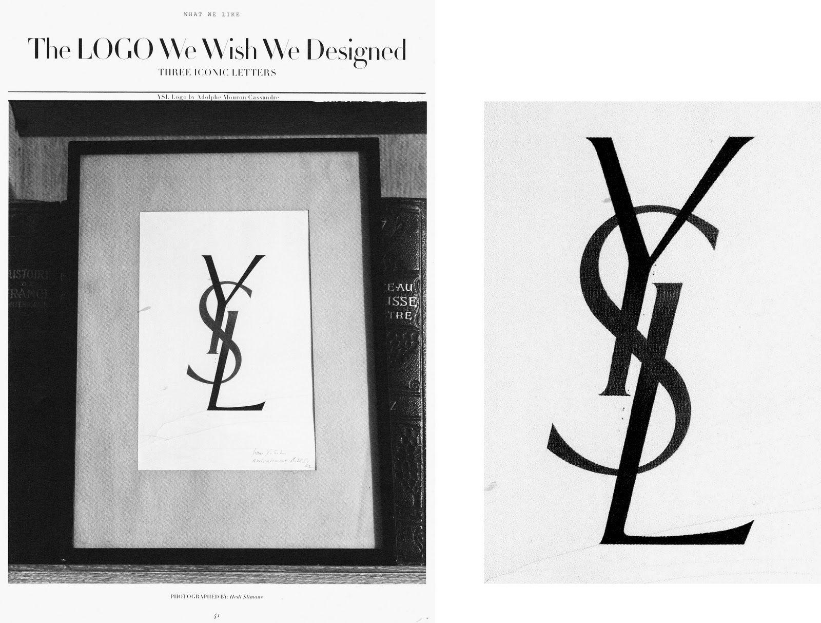 227b752f one of the greatest logos: ysl | YSL | Ysl, Great logos, Logos design