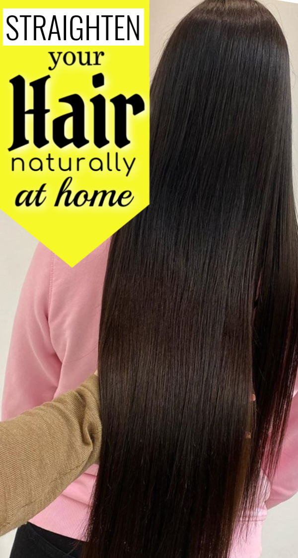Apply This Oil For Permanent Hair Straightening In Natural Way Hair Cure Beauty Tips For Hair Hair
