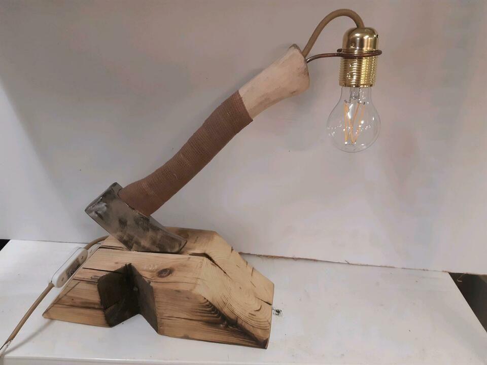 Industrial Design Lampe Beillampe 230V upcyclet in Baden