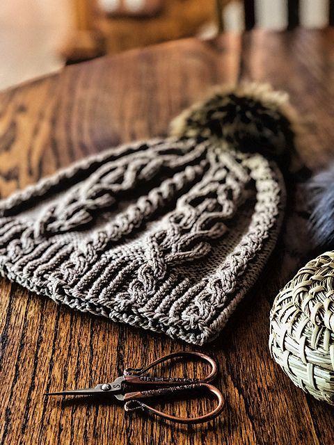 Ravelry: Mountain Trail Hat-Muster von Sandra C. - Strick Mützen #crochethatpatterns