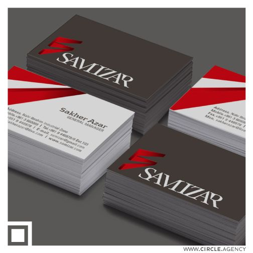 Samizar #businesscard #design by #CIRCLEvisualcommunication #circle #visualcommunication #agency  www.circle.agency