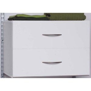 Beautiful Talon 2 Drawer Closet Organizer   White $89 Walmart   Mounts To Wall