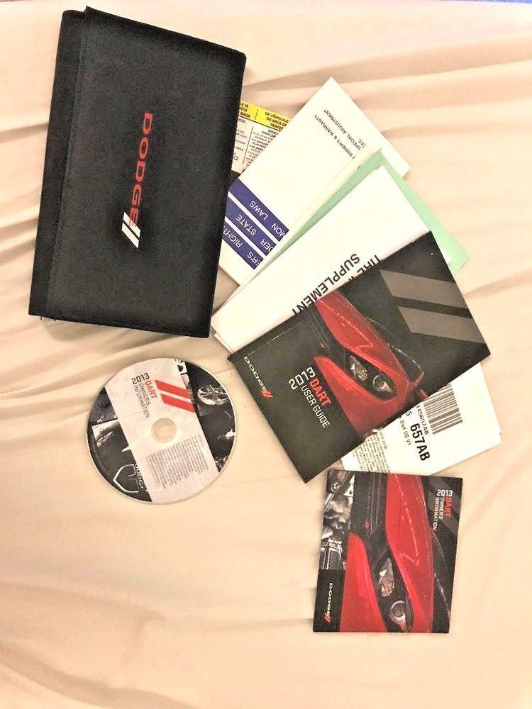 2013 dodge dart factory owner s manual user guide set dvd w case rh pinterest com 2011 dodge charger user guide dodge caravan 2014 user guide