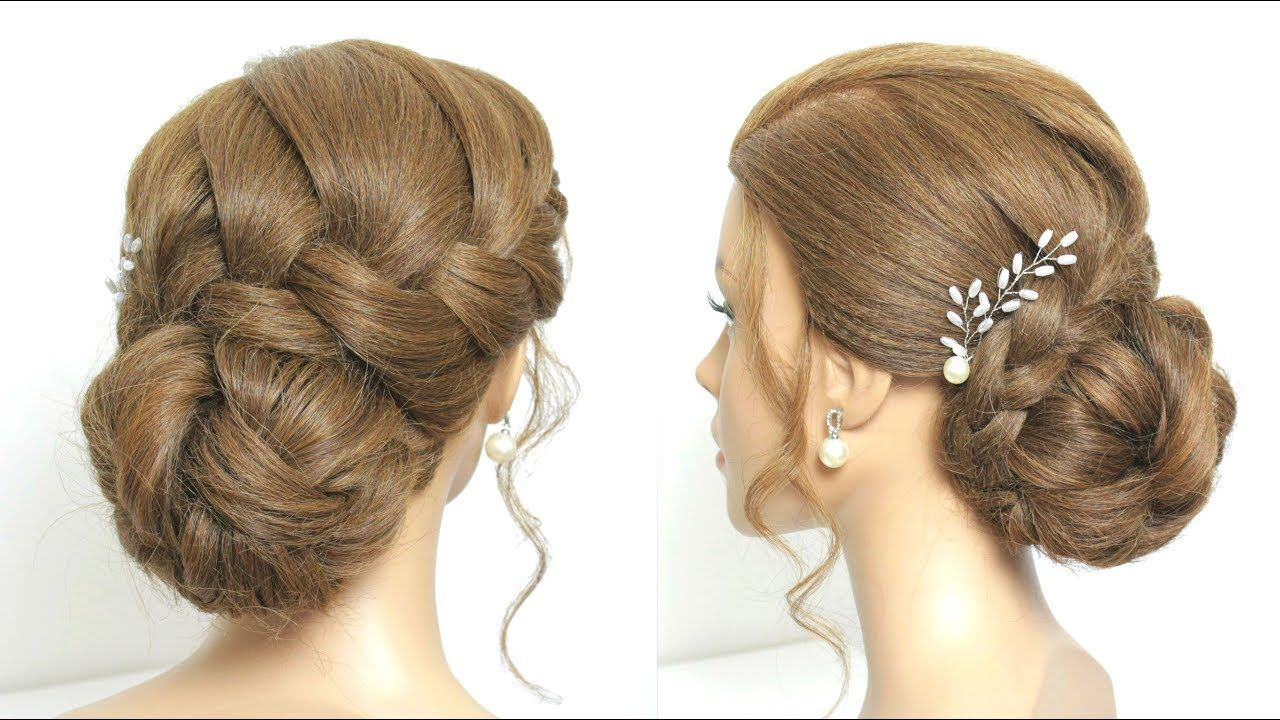 Simple And Beautiful Juda Hairstyle For Party Hair Art Hair
