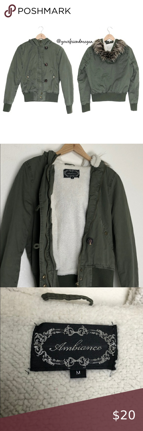 Ambiance Olive Fleece Lined Bomber Jacket Jackets Bomber Jacket Clothes Design [ 1740 x 580 Pixel ]