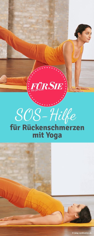 Yoga-Übungen für einen starken Rücken #pilatesposes