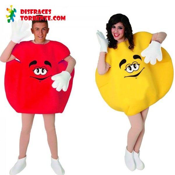 disfraces de caramelos talla adulto para parejas encuentra en nuestra tienda online el mejor surtido de disfraces para fiestas temticas carnaval y