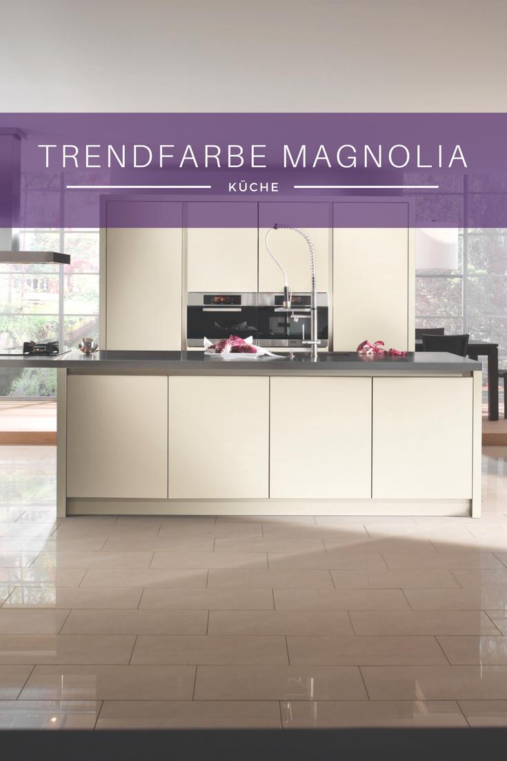 Küchenfarbe, Magnolie, Magnolia, Creme, Beige, Küche, Kücheninsel, Idee,
