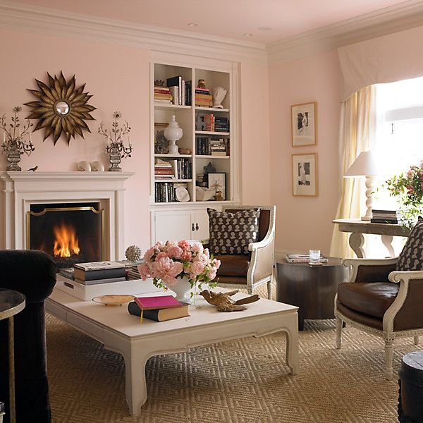 When It Comes To Paint Think Pink Pink Living Room Pink Room
