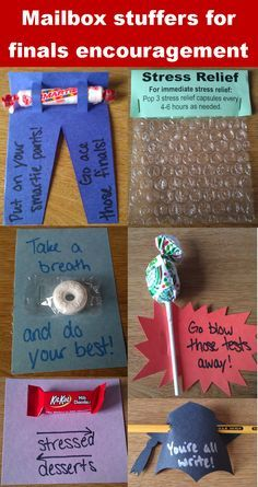 Stress Relief College College Stress Relief Kits For