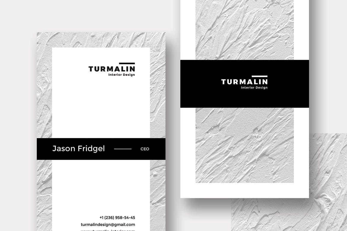 Turmalin Bussiness Card Template PSD | Business Card Templates ...