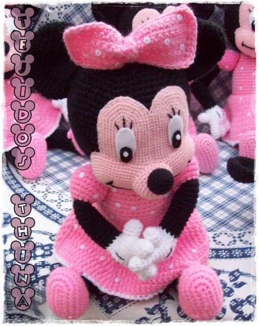 minnie mouse amigurumi | amigurumi | Pinterest | Häkeln
