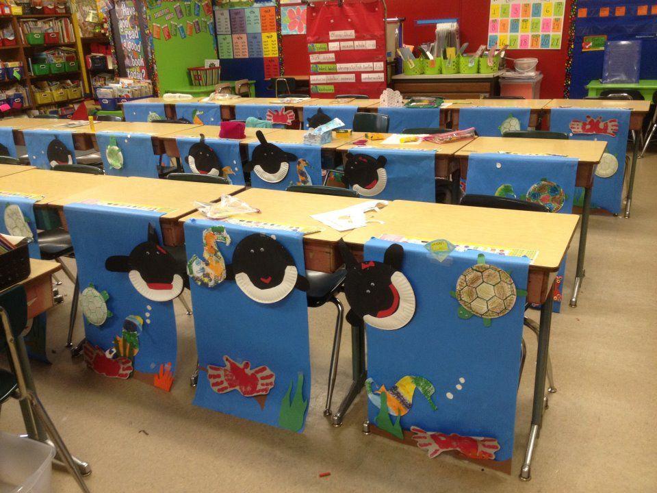 Classroom Unit Ideas : Ocean unit too cute good idea for science or ss units