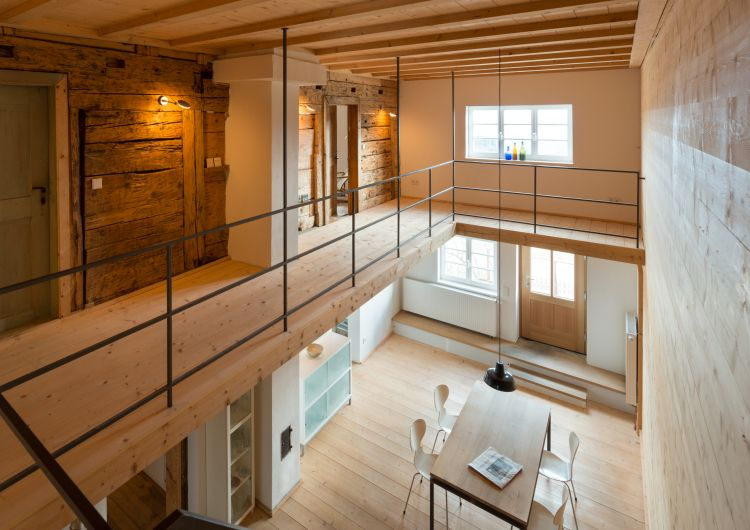 sanierung und umbau eines bauernhauses im allg u innenarchitektur pinterest. Black Bedroom Furniture Sets. Home Design Ideas