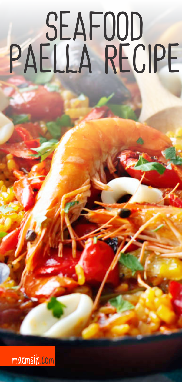 Seafood Paella Recipe Healthy Dinner Recipes In 2019