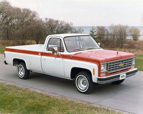 1976 Chevrolet Pickup Truck Gmc Trucks Chevy Trucks Pickup Trucks