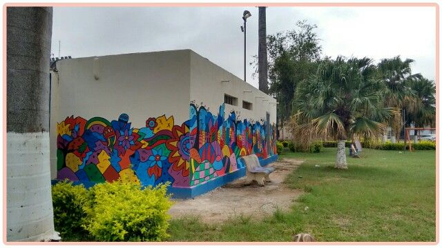 Arte de rua  - Artista Giovanna Brandão