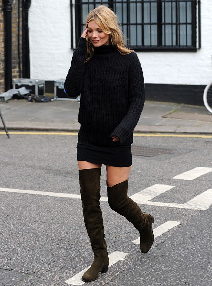 How to Wear Thigh High Boots Celebrities Show 15 Do's and