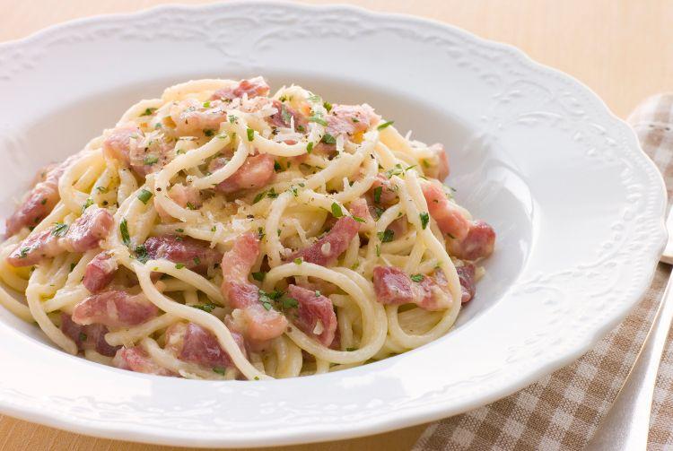 Italiensk Madskole Spaghetti Carbonara Madopskrifter