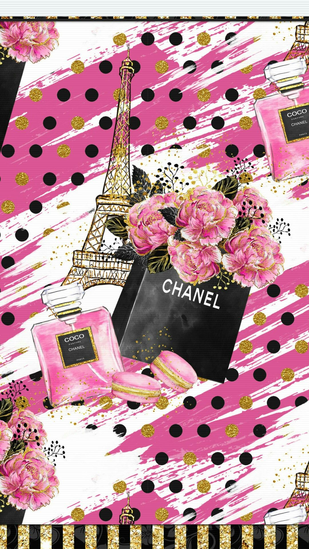 iPhone Wall tjn Chanel wallpapers, Cute wallpaper for