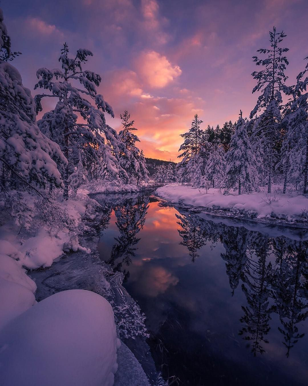 Best Pictures Gallery On Instagram Picture Of The Day Photosbyroger Congratulations Winter Sunset Sunset Photos Norway