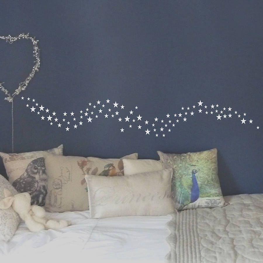 A Lovely Starburst Wall Sticker.Available In A Range Of Colours To  Compliment Any Room