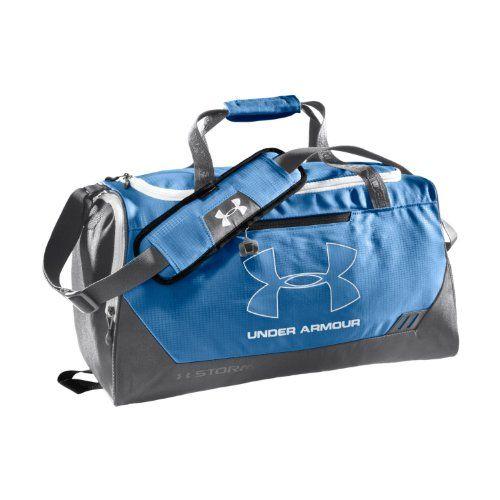 Under Armour UA Hustle Storm SMALL Duffle Bag Carolina Blue  30fd093cadd2e