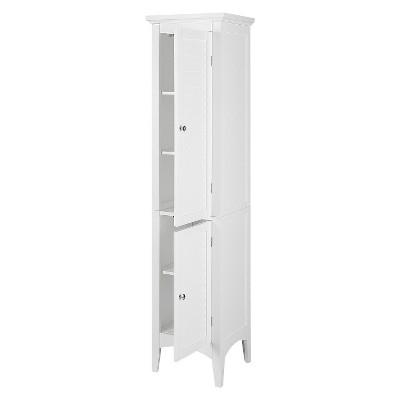 Slone 2 Door Shuttered Linen Cabinet