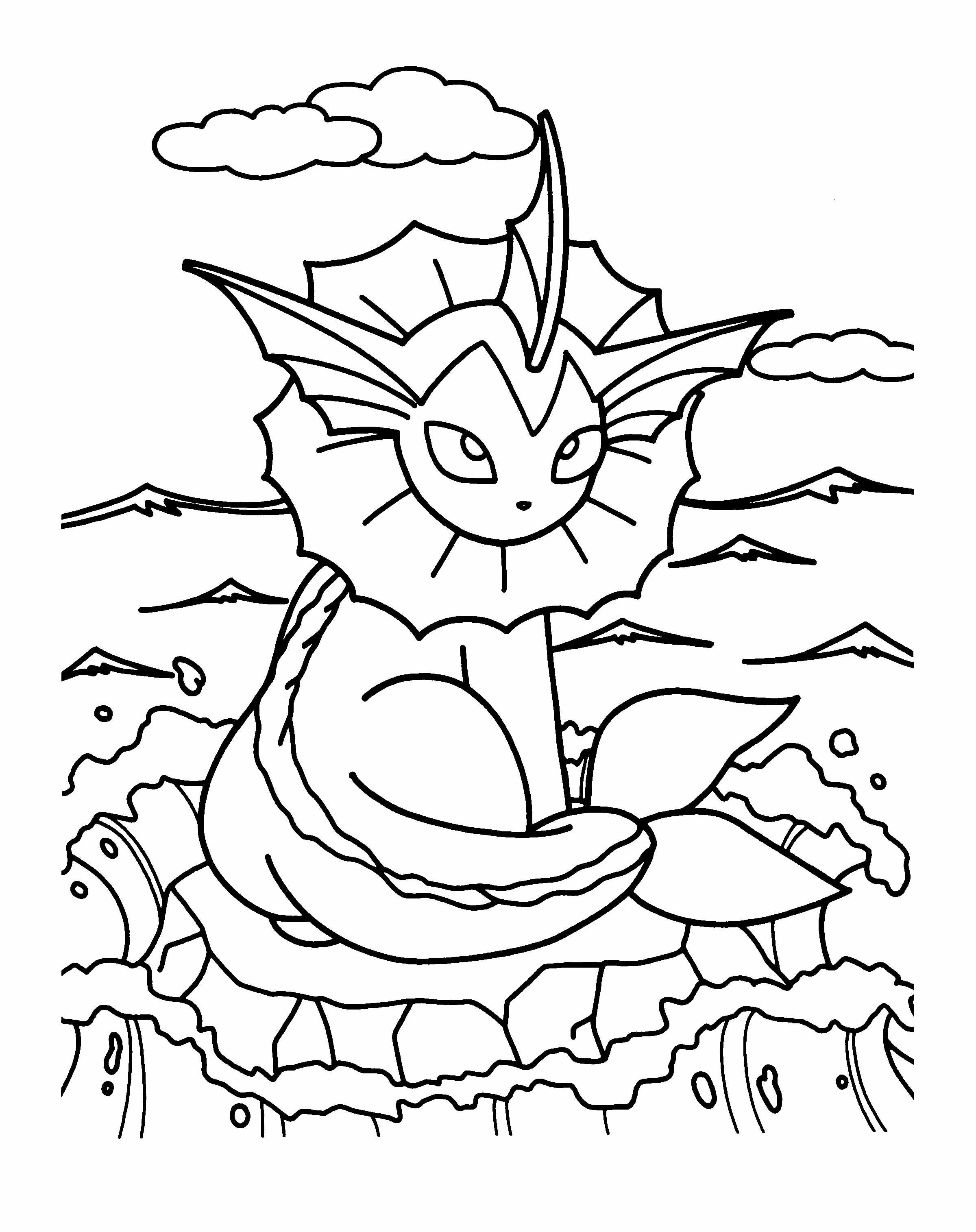 Pokemon Girl Scout Coloring Page | Pokemon coloring ...