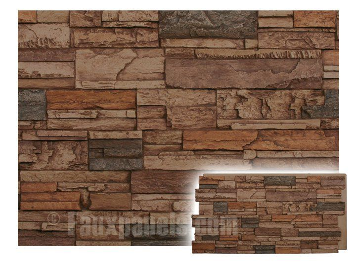 norwich kentucky dry stack sierra brown panel  paneling