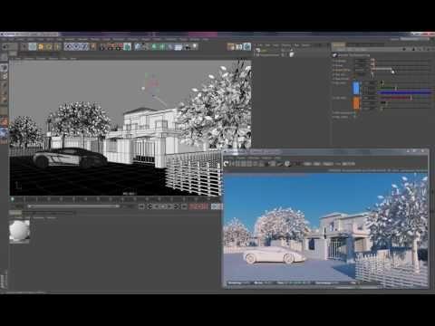 (1) Octane Render for C4D - Daylight - YouTube
