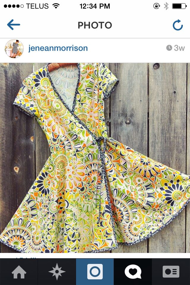 McCalls pattern M6959 (from IG Janean Morrison sept 2014). Would be gorgeous in medium-weight knit!
