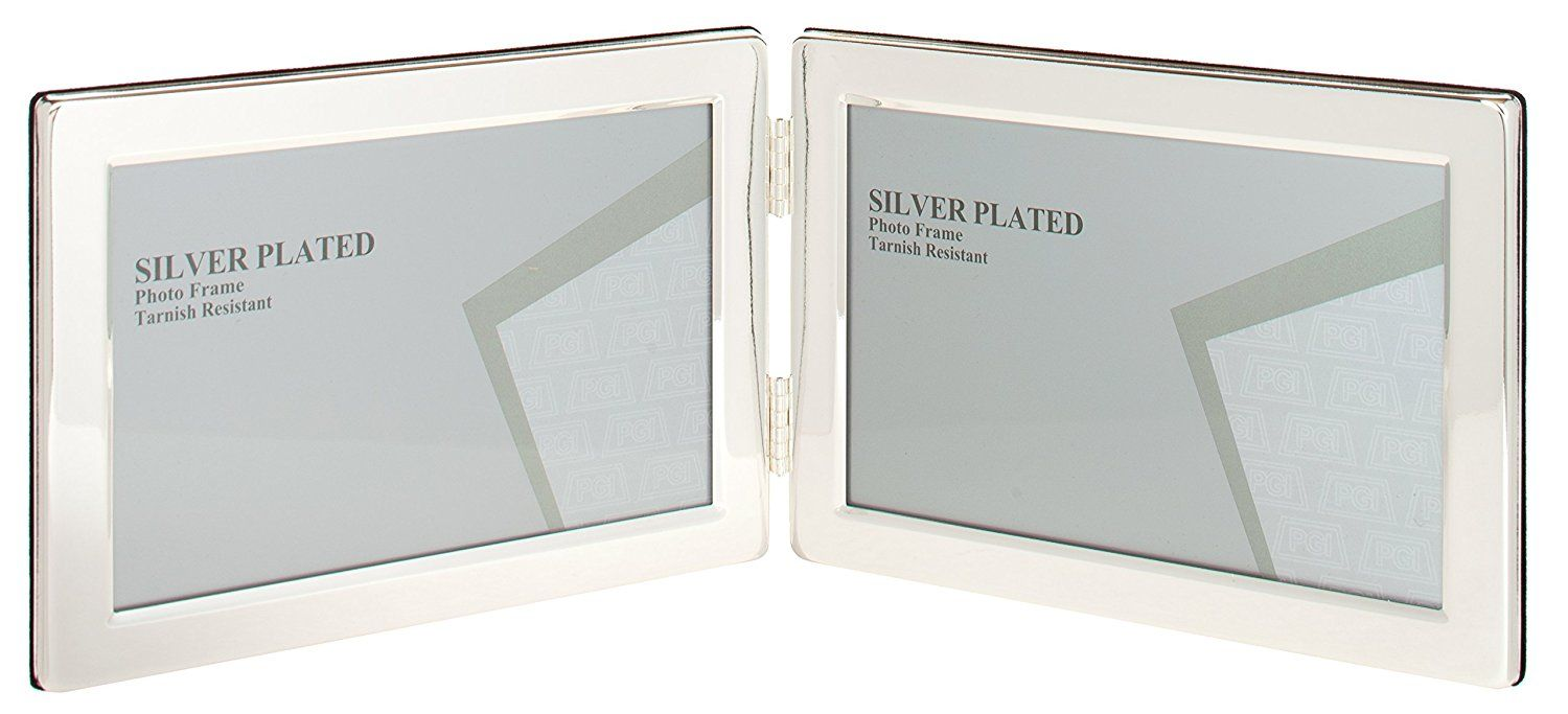 Viceni Landscape Hinged Double Photo Frame, 5 by 7-Inch ** You can ...