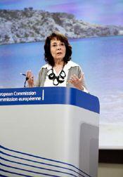 """EU-Kommissarin Damanaki: Wirtschaftlich Vorankommen mit """"blauem Wachstum"""""""