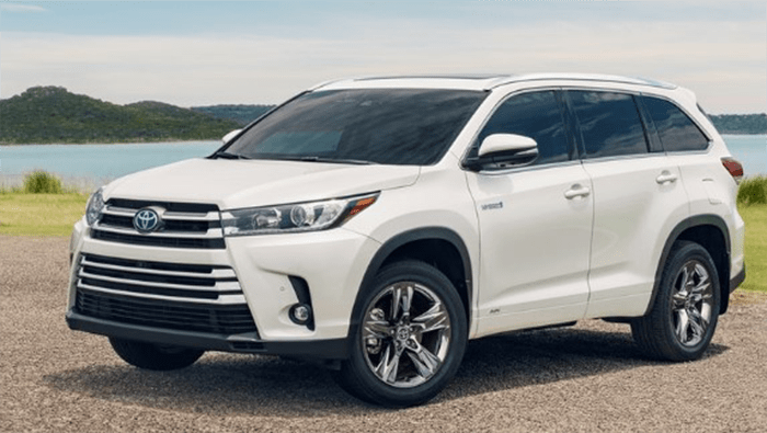 The 2019 Toyota Highlander Hybrid Le Specs And Price Is One Of The New Highlander Hybrid Model Using The Late Toyota Highlander Hybrid Toyota Toyota Highlander