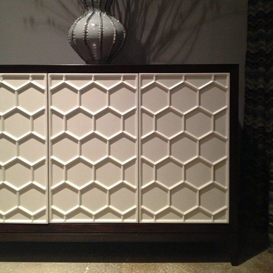 Honeycomb Console At Thomasville, Thomasville Furniture Jacksonville