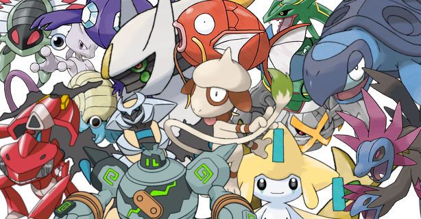 15 New Event Pokemon for you to send to your game with