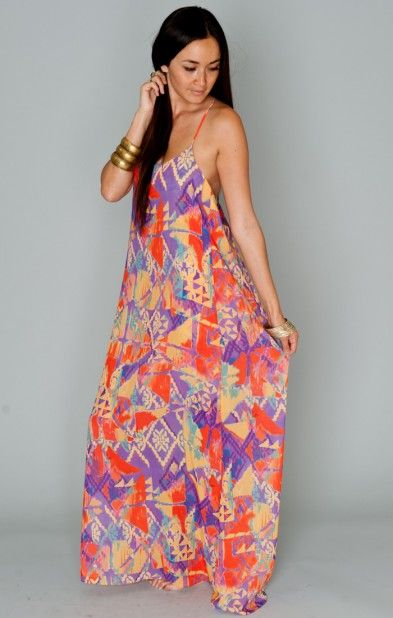 ead89aa14cbc Open Back Maxi Dress. Dainty v-neckline and open cutout style back. Lined  with a mini dress. Show Me Your ...