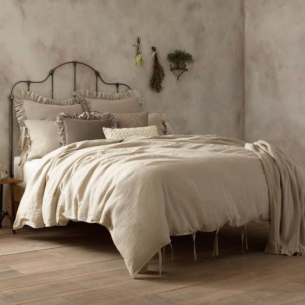 Product Image For Wamsutta Vintage Linen Duvet Cover 2 Out Of 4