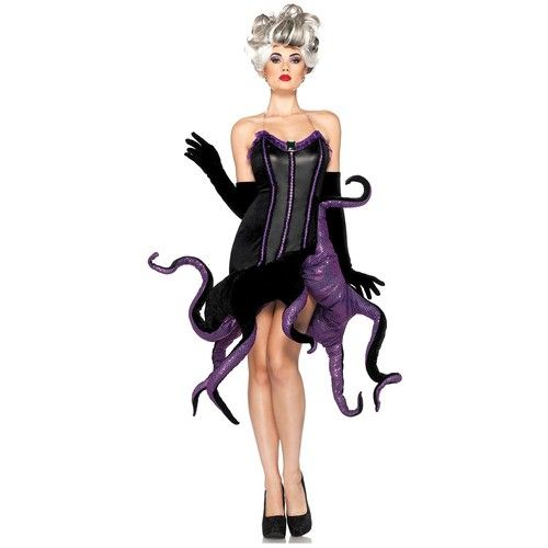 Ursula adult costume disney wicked the little mermaid halloween ursula adult costume disney wicked the little mermaid halloween fancy dress ebay solutioingenieria Gallery
