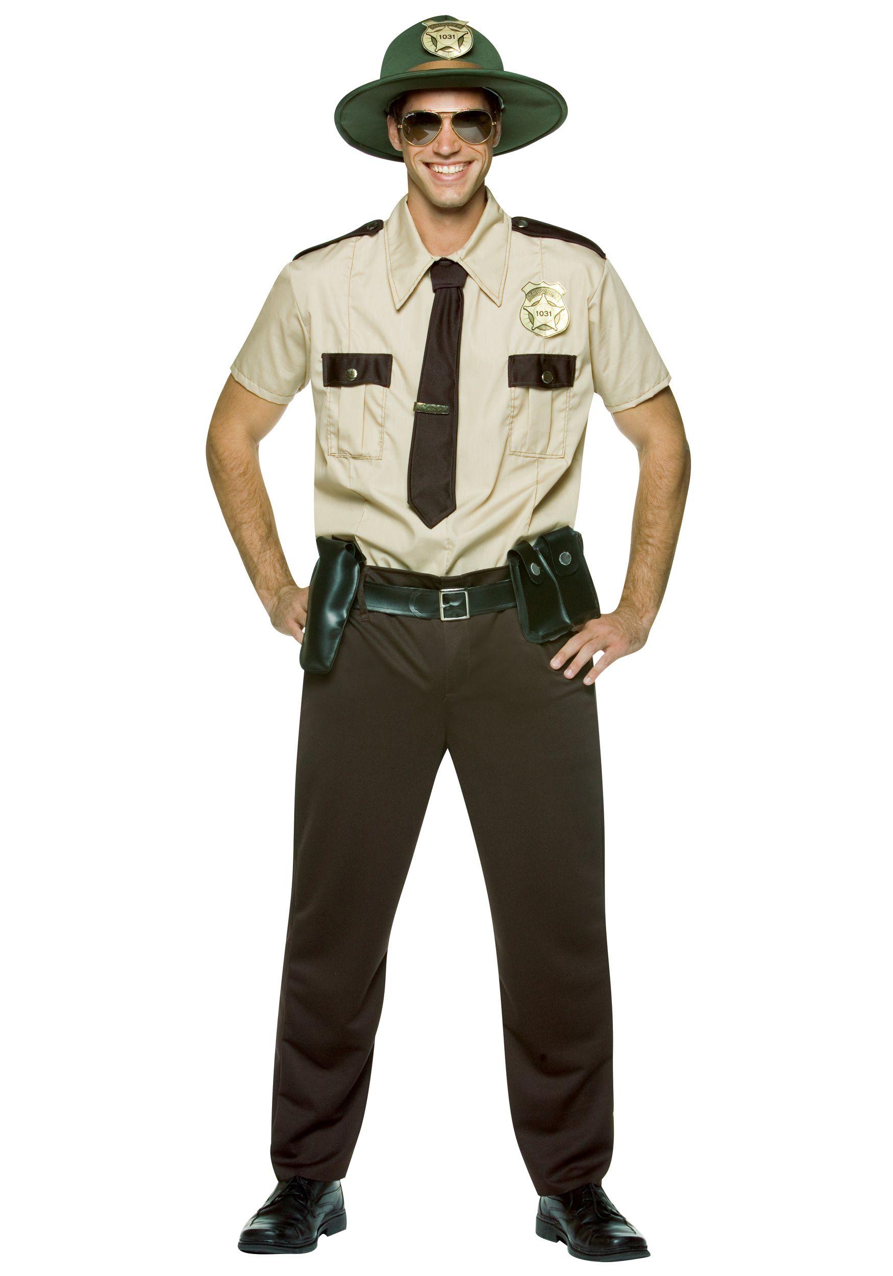 men u0027s state trooper costume costumi pinterest costumes