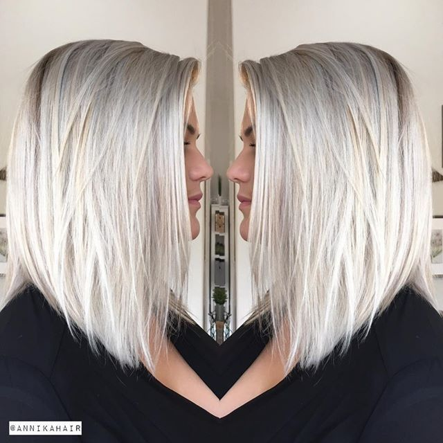 Love absolutely everything about this. Layers, color, length is perfect and angle is perfect.