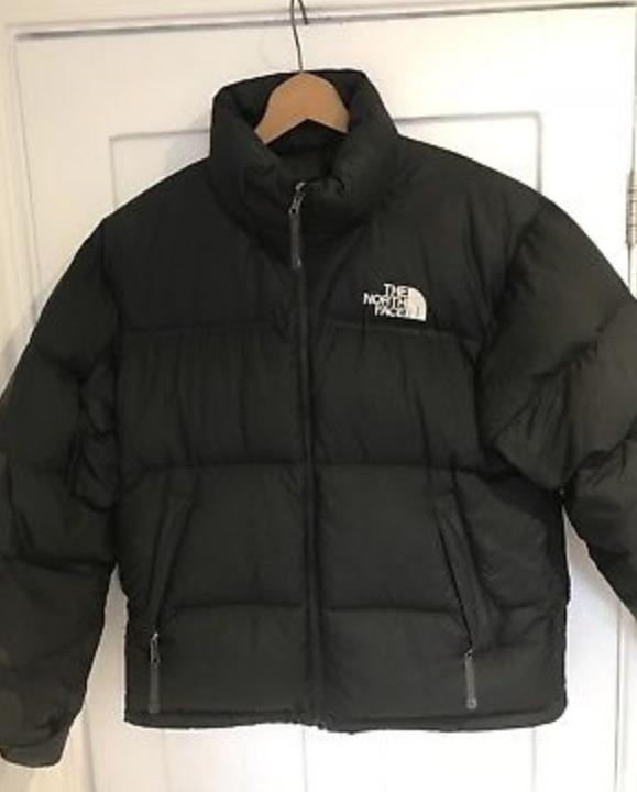 817d02991a FOR SALE  The North Face Vintage Men s Nuptse 1 Black Puffa Jacket 700 Goose  Down Medium