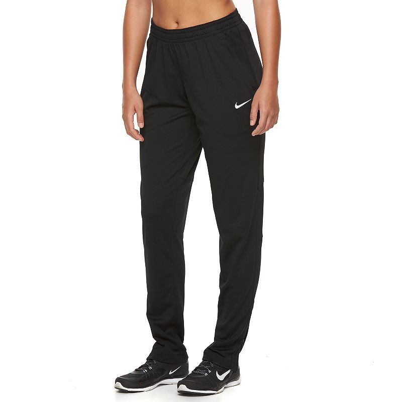 e04f4da396c6fd Women's Nike Academy Dri-FIT Knit Soccer Pants, Size: Medium, Grey  (Charcoal)