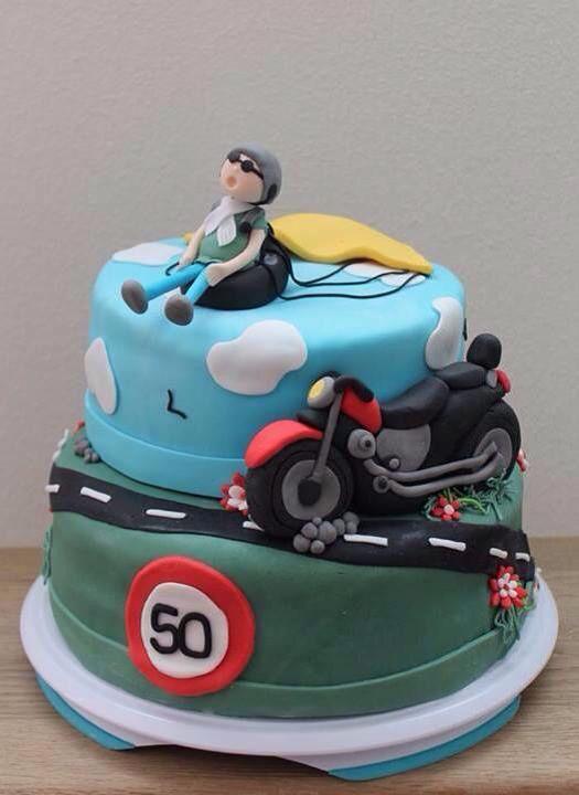 motor taart Taart 50 jaar motor, paragliding | Delicious ! | Pinterest | Cake  motor taart