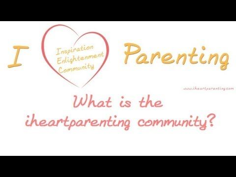 Wondering what the I Heart Parenting community is? Here's founder Rebecca Thompson describing it! http://www.iheartparenting.com