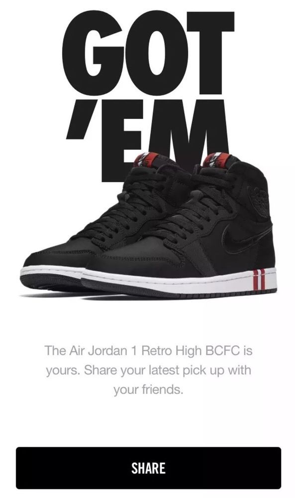 online store bc234 bd24a Air Jordan 1 Retro HI OG PSG Paris Saint Germain BCFC Black Red White  AR3254 fashion clothing shoes accessories mensshoes athleticshoes  (ebay link)