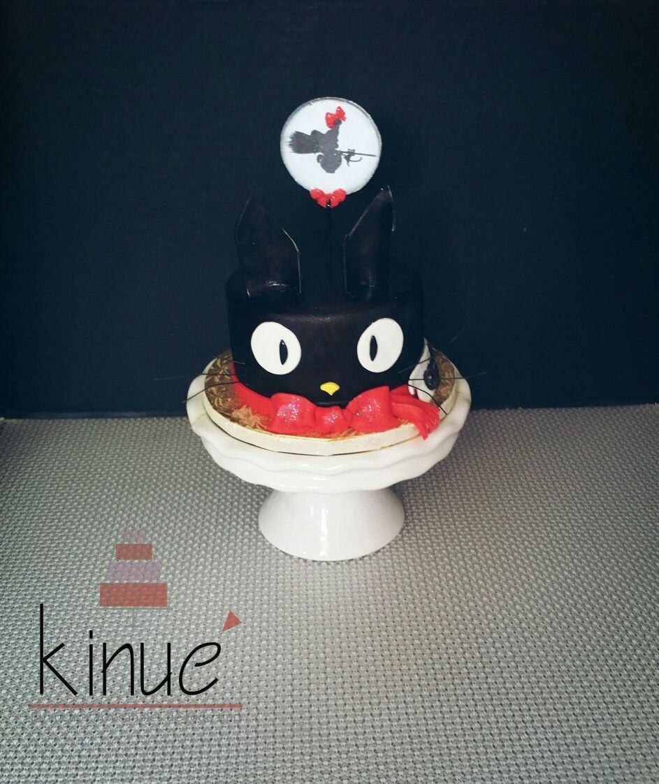 Kikis Delivery Service Cat Cake Japanese Anime