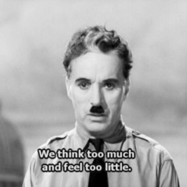 Charlie Chaplin, a poner en práctica.