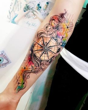 Watercolor tattoo: the colorful trend among tattoos
